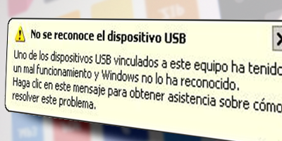 Windows no reconoce un dispositivo